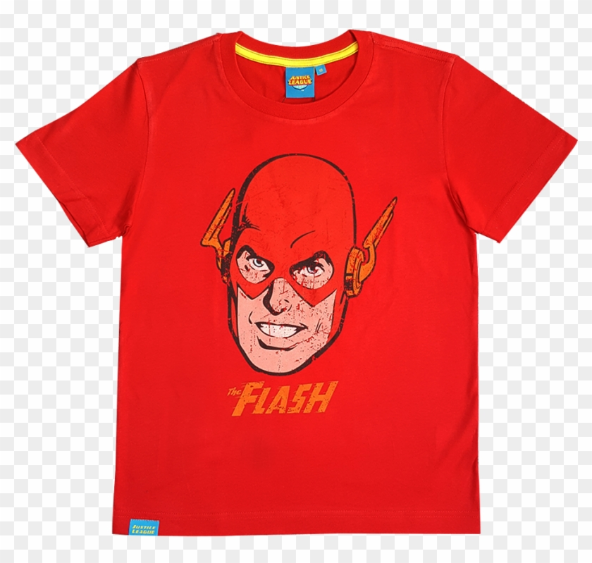 Flash Kid Graphic T-shirt - Did This Get Made T Shirts Clipart #1347286