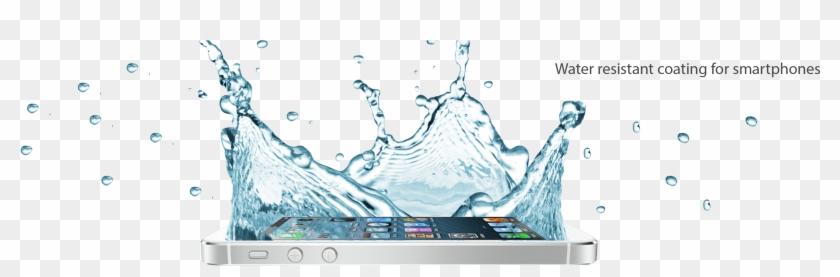 Splash Spray On Water Resistant Kit For Your Phone - Sıvı Temas Telefon Png Clipart #1348669