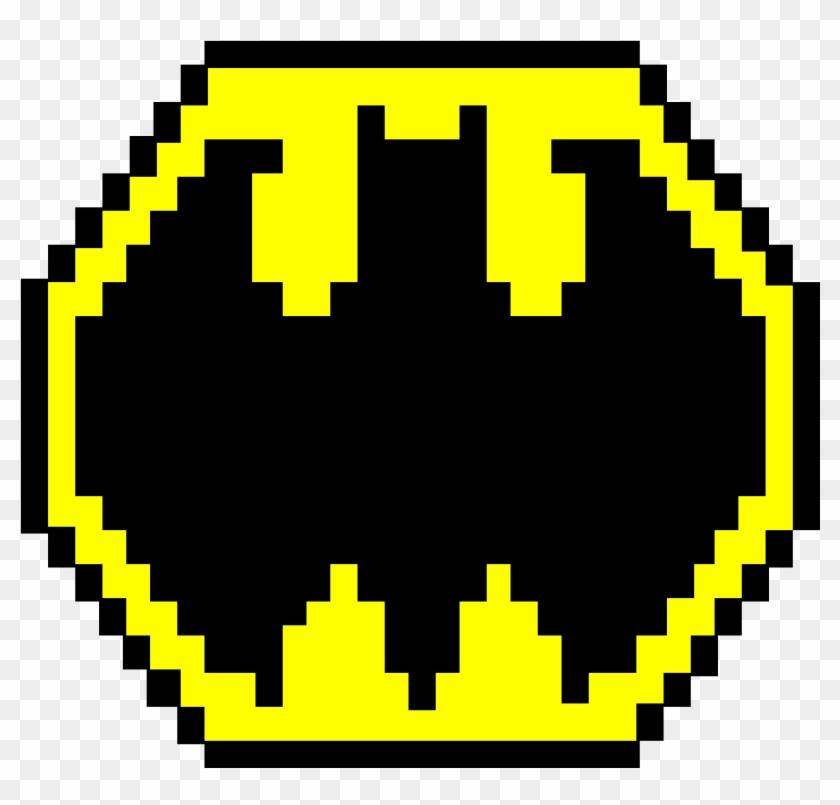 Bat Symbol - Koro Sensei Pixel Art Clipart #1349206