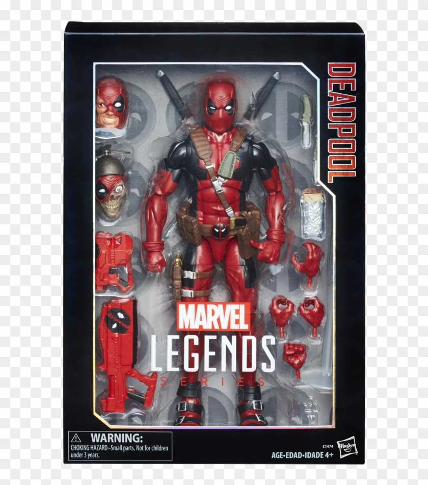 In Addition, Fans Got A Closer Look At The Marvel Legends - Marvel Legends Series 12 Inch Deadpool Clipart #1353014