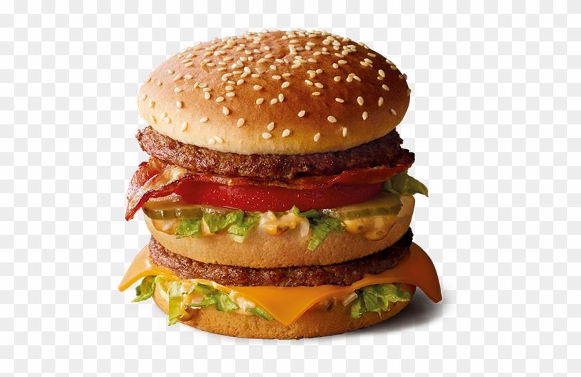 Big Mac Png - Mcdo Big Mac Bacon Clipart #1355748