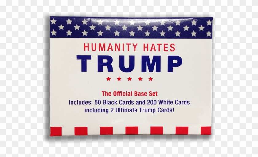 Humanity Hates Trump Is An Expansion Pack To Cards - Card Game Clipart #1357525