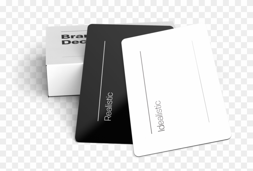 Mockup Brand Deck - Paper Clipart #1357861