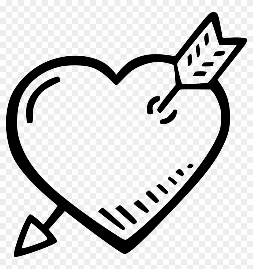 Heart And Arrow Comments - Portable Network Graphics Clipart #1358901