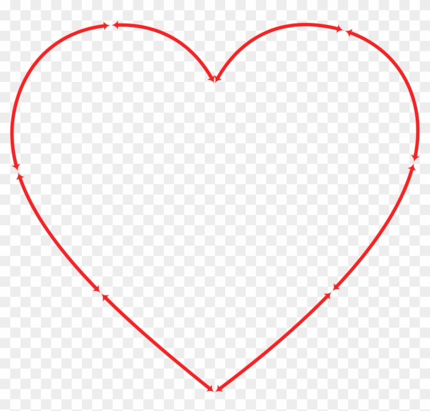 Heart Computer Icons Drawing Arrow - Coroa De Espinhos Coração Clipart #1359187