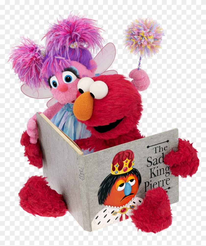 Elmo And Abby Reading Elmo And Abby Cadabby Enjoy Reading