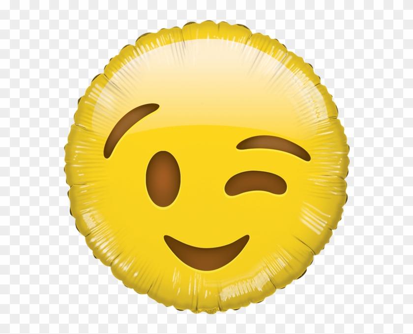 Globilandia Catalogo De Globos Formas Smile Carita - Heart Eyes Emoji Balloon Clipart #1366678