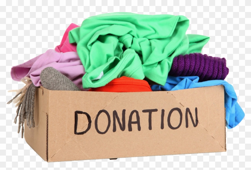 Donation Box Original - Clothes Drive For Homeless Clipart #1367519