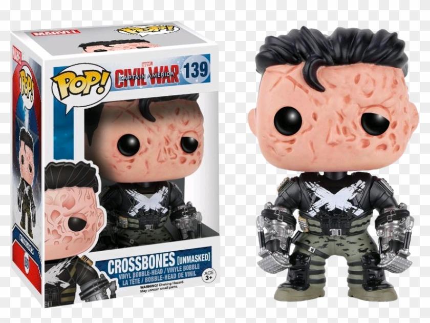 Civil War Funko Pop Crossbones - Funko Pop Crossbones Clipart #1374302