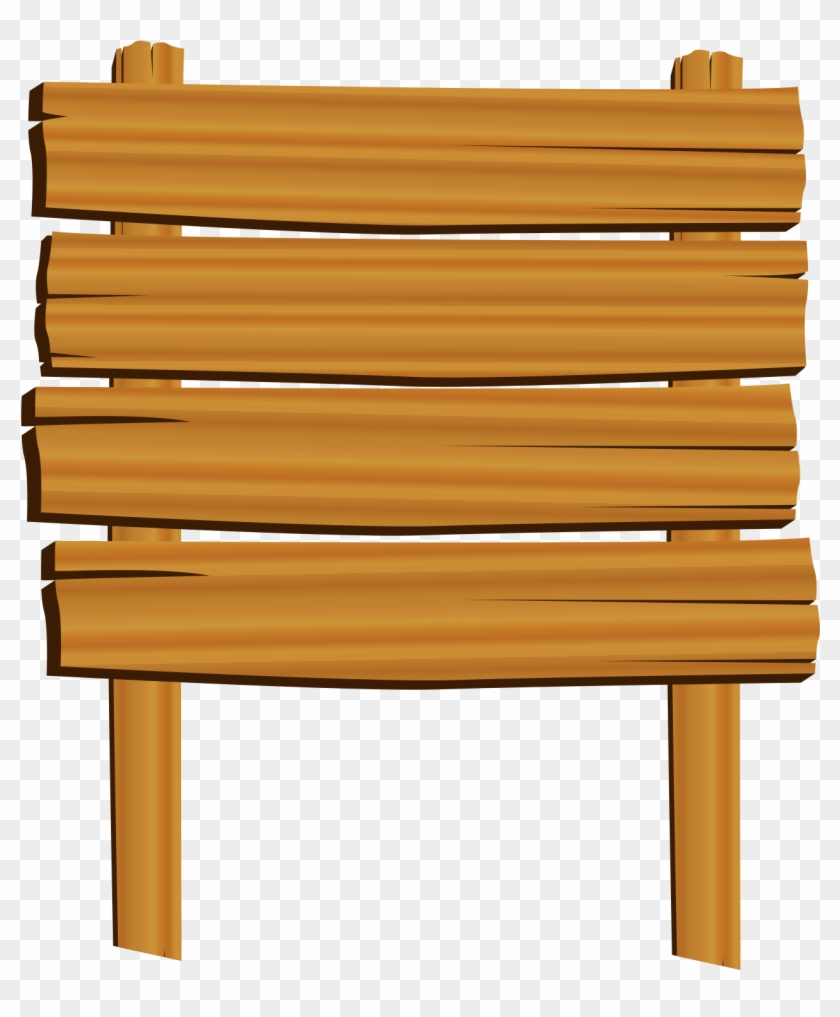 Clip Arts Related To - Clip Art Wooden Board - Png Download #1376346