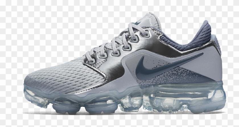 Nike Air Vapormax Big Kids' Running Shoe Size - Nike Vapormax Flyknit Girls Clipart #1384851