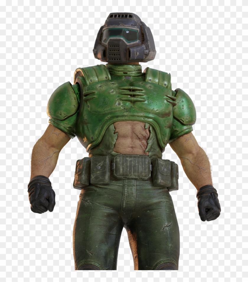 Doom Guy Qc Render By The Doom Man In R Doom Doomguy 64 Render