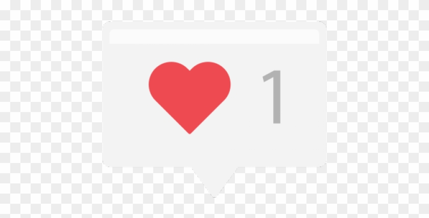 Instagram Icon Heart Png Clipart #1386592