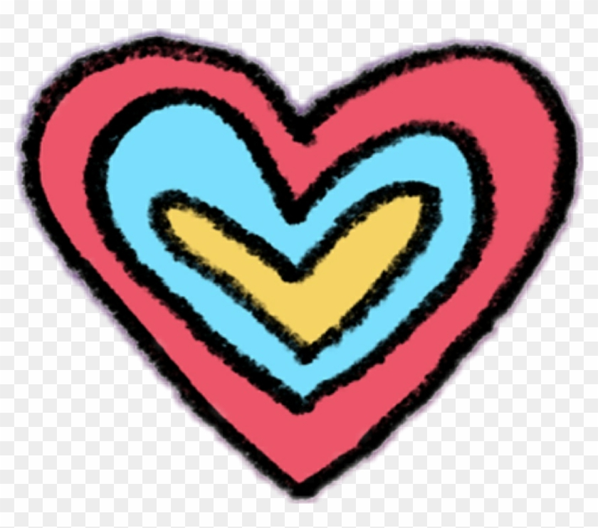 #heart #instagram - Instagram Heart Sticker Png Clipart #1386888