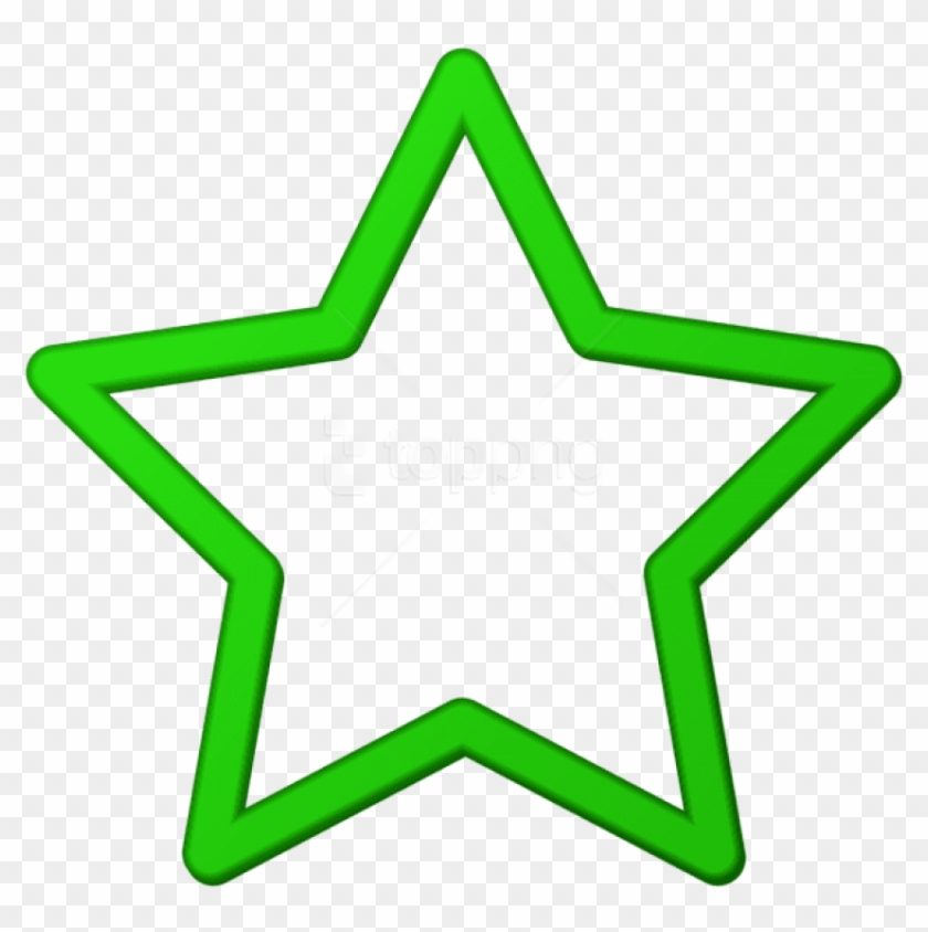 Download Green Star Border Frame Png Clipart Png Photo - Purple Stars Clipart Png Transparent Png #1388406