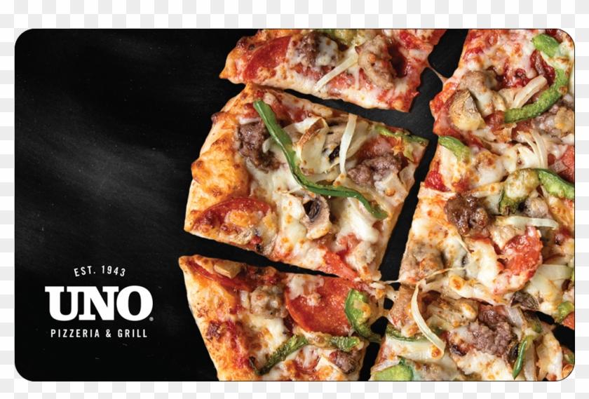 Uno Pizzeria & Grill Gift Card - California-style Pizza Clipart #1393845