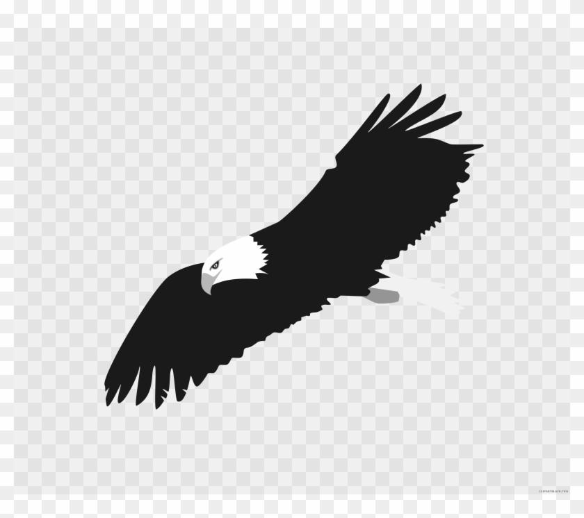 Eagle Clipart Fire - Bald Eagle Clipart Transparent - Png Download #1395414