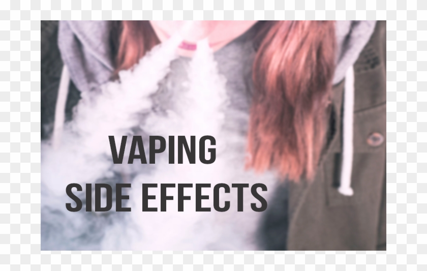 4 E-cigarette Side Effects - Poster Clipart #1395565