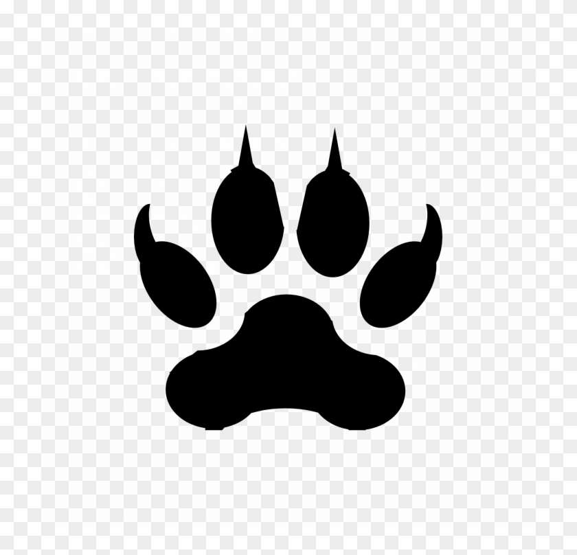 Medium Size Of Wolf Drawings That Are Easy Pup Drawing Jaguar Paw Clipart Png Download 1396277 Pikpng