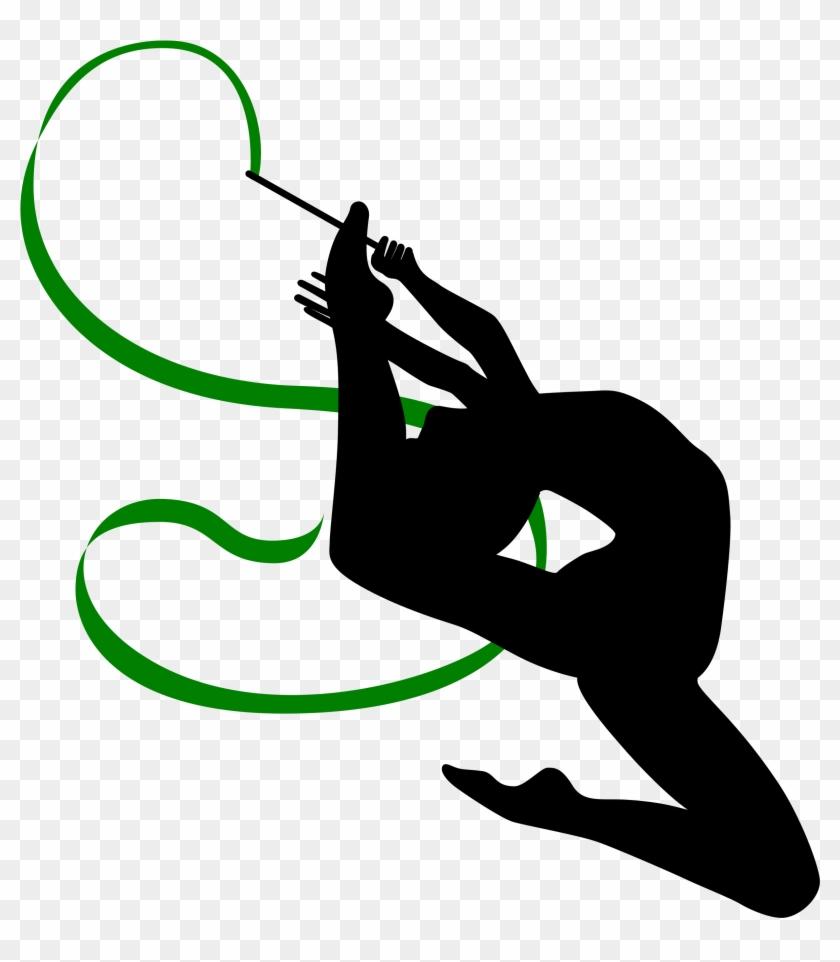 Gymnastics Clipart Photo - Rhythmic Gymnastics Clipart - Png Download #1396748