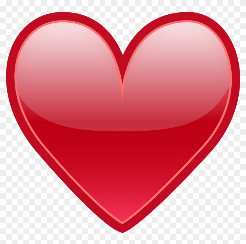 Hearts Clipart Heartbeat - Emoji Love Png Transparent Png #141078