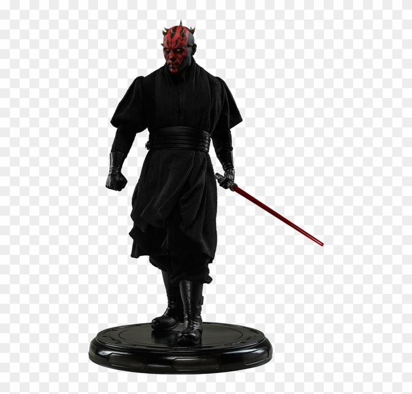 Star Wars Darth Maul Premium Format Figure By Sideshow - Sideshow Premium Format Darth Maul Clipart #141164
