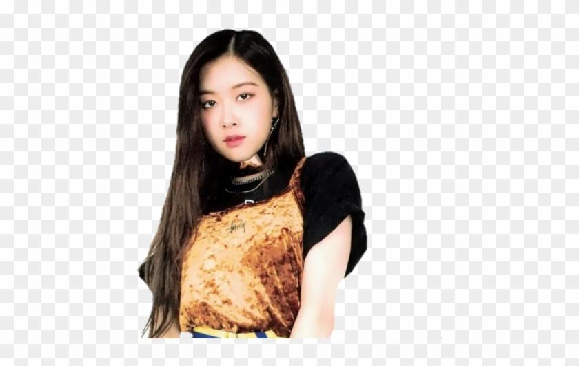 Black Fashion Model Png - Transparent Rose Blackpink Png Clipart #142497