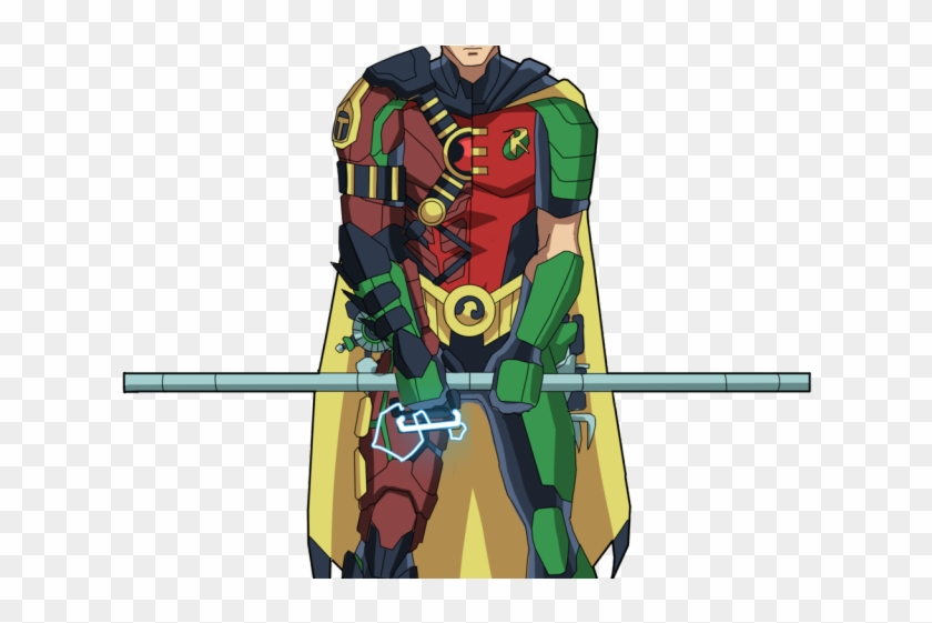 Superhero Robin Png Transparent Images - Batman Clipart #146168