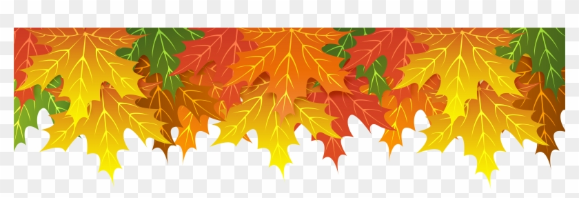 Fall Leaves Border Png Clipart #146379