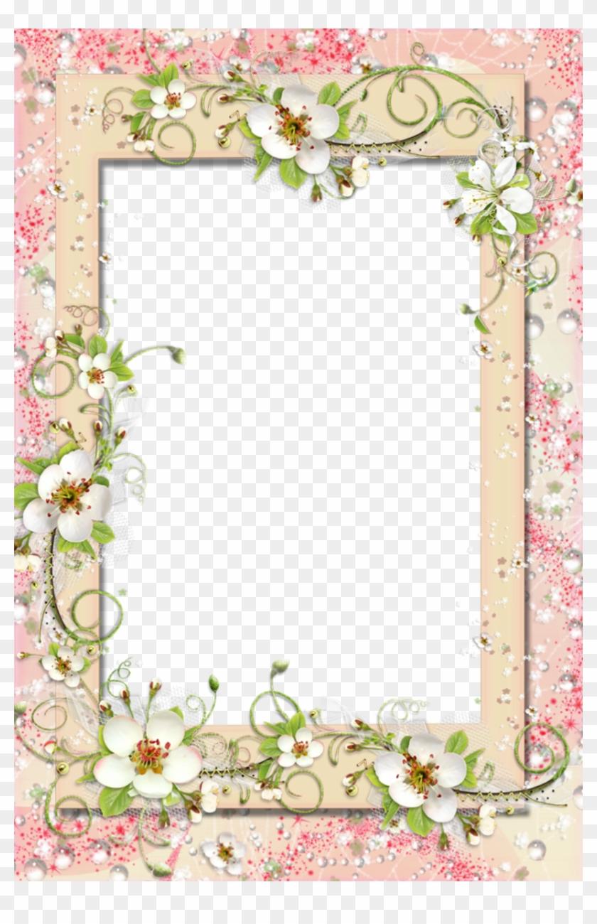 Floral Border - Borders Flowers Design Hd Clipart #146938