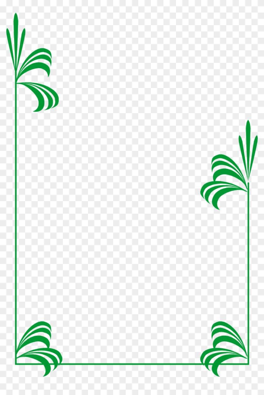 958 X 1388 20 - Line Art Border Design Png Clipart #147733