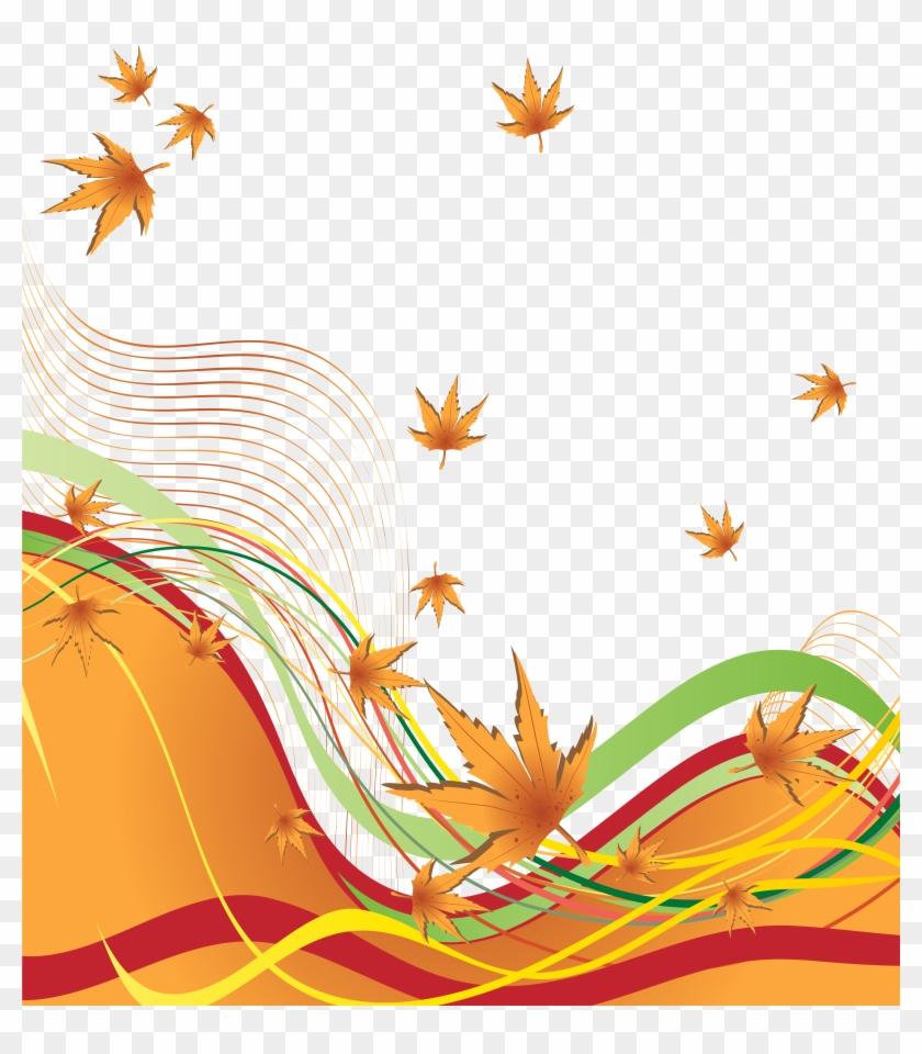 Clip Art Black And White Download Autumn Border Clipart - Png Decorative Bilder Banner Transparent Png #147787