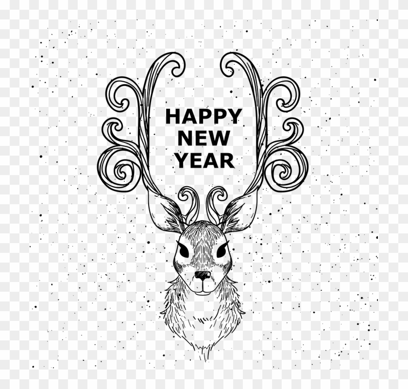 Happy New Year Eve Clipart | Merry christmas and happy new year, Happy new  year wishes, Happy new year 2019