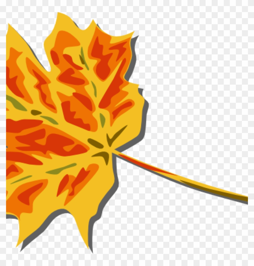 Fall Leaves Images Clip Art Free Vector 4vector Space - Fall Leaves Clip Art - Png Download #148734