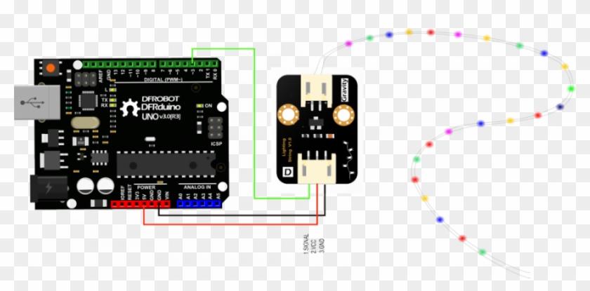 Dfr0439 Connection Diagram - Ph Sensor Connection With Arduino Clipart #149133