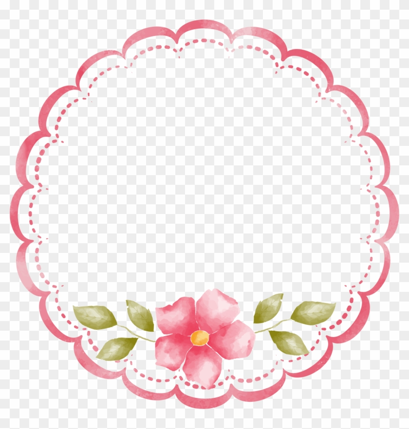 Decorative Border Png Transparent Free Images Png Only - Pink Border Clipart Png, Png Download #149491