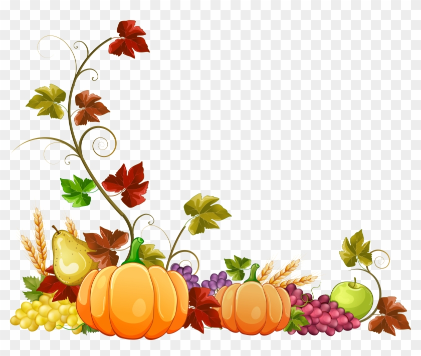 Jpg Royalty Free Download Collection Of Autumn Images - Transparent Fall Border Clipart - Png Download #149583
