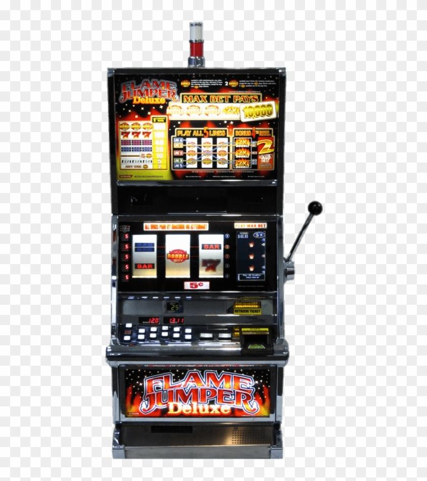Download Flame Jumper Slot Machine Transparent Png - Slot Machine Clipart #1401124