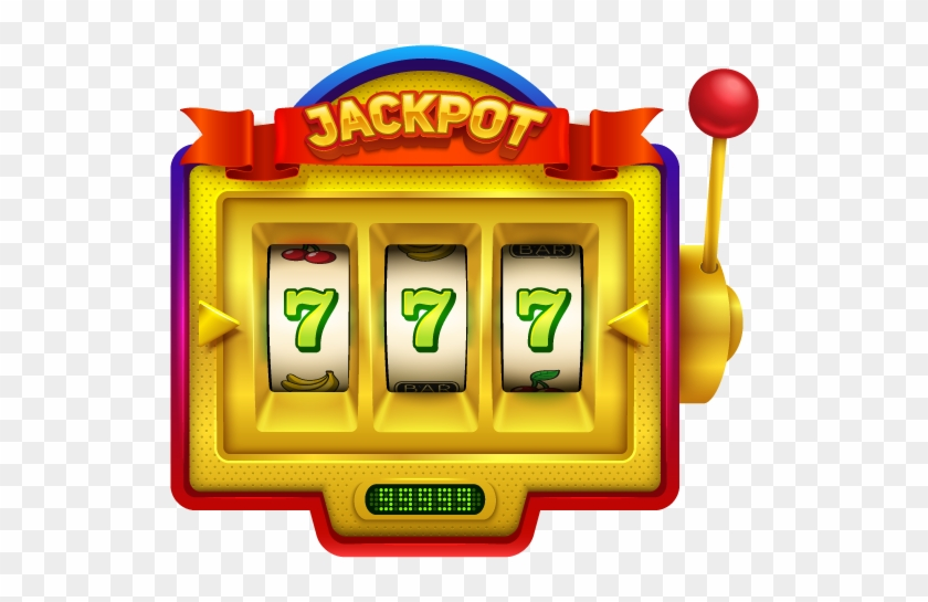 Casino Clipart Vintage Slot Machine Toy Isolated On - Slot Machine Illustration - Png Download #1401342