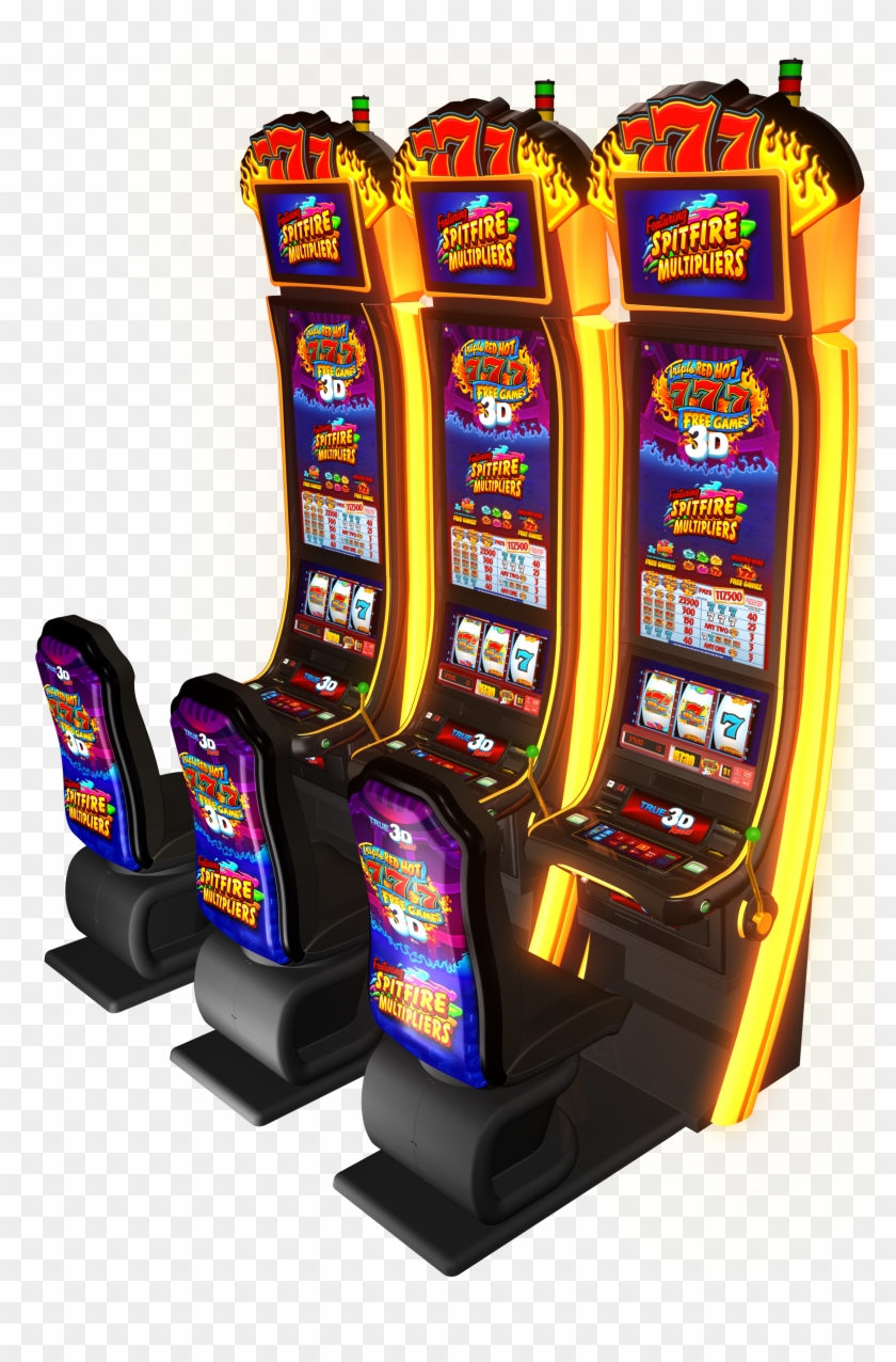 New Triple Red Hot 7s Free Games Slots Provide A 3d - Video Game Arcade Cabinet Clipart #1401901