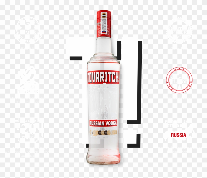 Premium Russian Vodka Is Produced In The Very Heart, HD Png Download #1403180