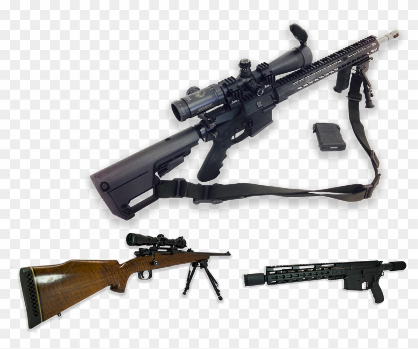 We Also Offer Custom Bolt Action Rifles For Competition, - Well Custom Sniper Clipart #1403400