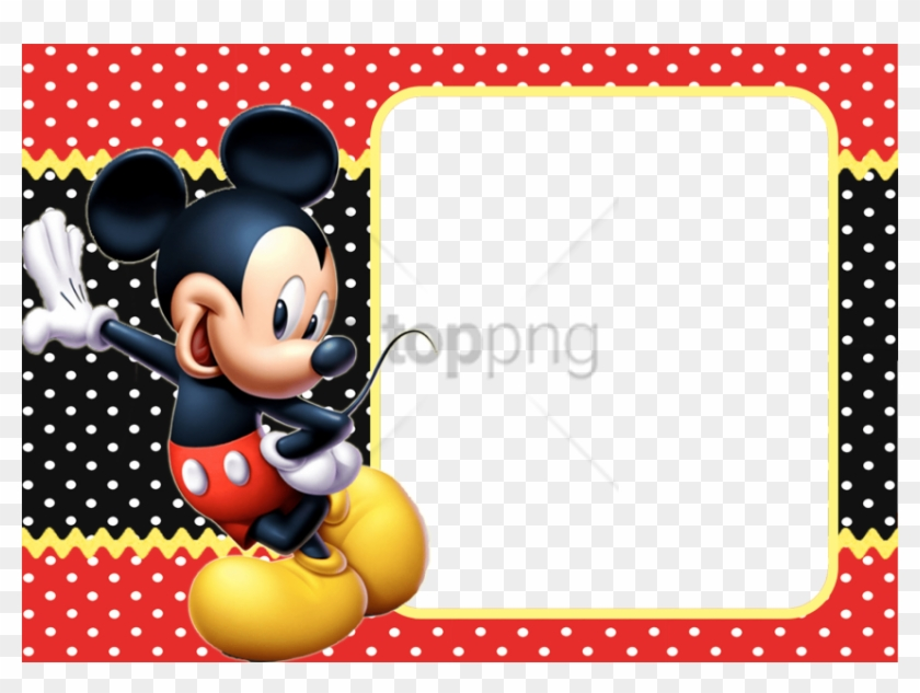Free Png Moldura Do Mickey Png Image With Transparent Low Poly