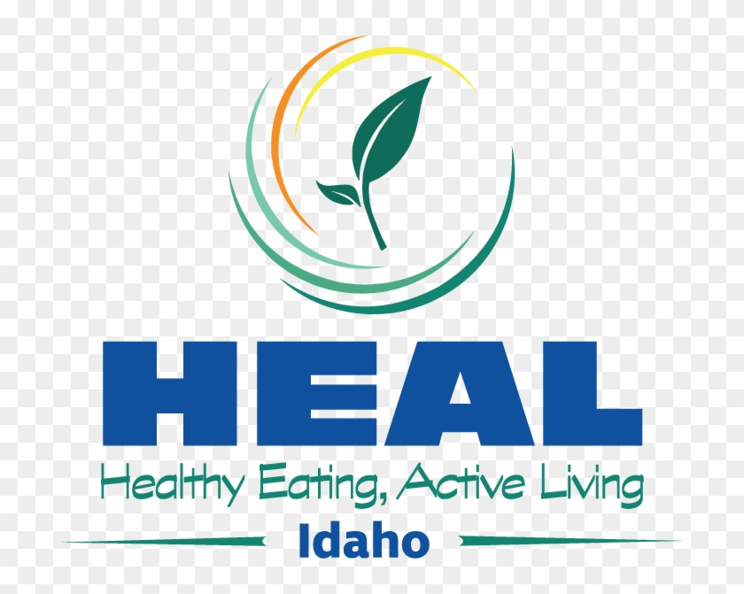 Healthy Eating, Active Living Idaho Is A Voluntary - Active Healthy Lifestyle Logo Clipart #1412586