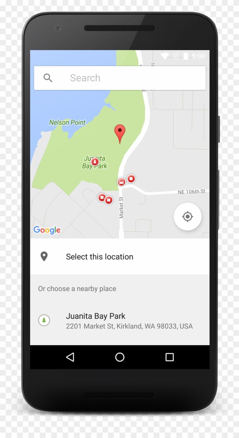 Android Image Picker the place picker ui widget - android location picker clipart