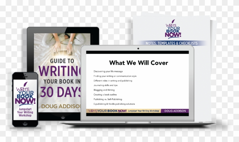 Writing A Book Used To Be A Long, Painful Task, But - Online Advertising Clipart #1418171