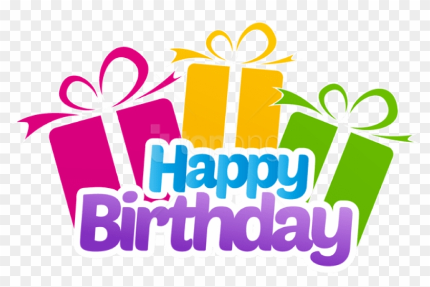 Free Png Download Happy Birthday With Gifts Png Images Happy Birthday Png Clip Art Transparent Png 1419055 Pikpng