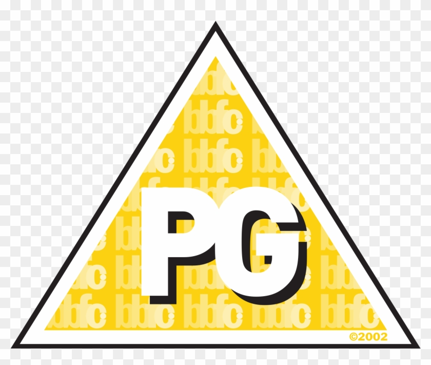 Pg Rating Png - Pg Age Rating Logo Clipart #1424761