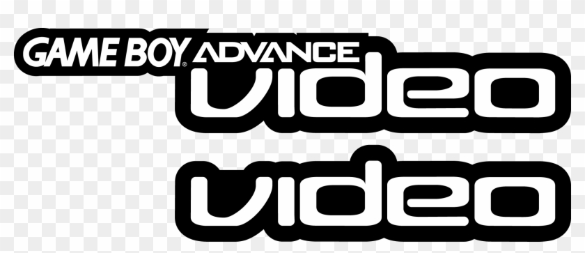 Game Boy Advance Video Gameboy Advance Video Logo Clipart 1425457 Pikpng