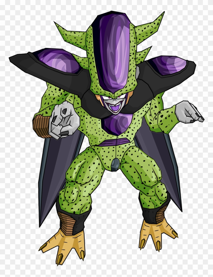 0 Replies 0 Retweets 0 Likes - Cell Dbz 3rd Form Clipart #1428908